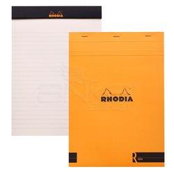 Rhodia - Rhodia Basic Bloknot Turuncu Kapak 90g 70 Yaprak 210x297mm
