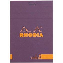 Rhodia - Rhodia Basic Çizgili Bloknot Purple Kapak 90g 70 Yaprak A5