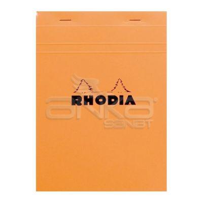 Rhodia Basic Çizgili Bloknot Turuncu Kapak 80g 150 Yaprak A5