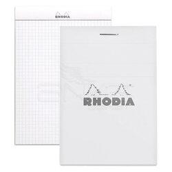 Rhodia - Rhodia Basic Bloknot Beyaz Kapak 80g 80 Yaprak A5 (1)