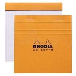 Rhodia - Rhodia Basic Le Carre Bloknot Kareli Turuncu Kapak 80g 80 Yaprak (1)