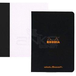 Rhodia - Rhodia Basic Siyah Kapak Defter 80g 48 Yaprak 210x297mm