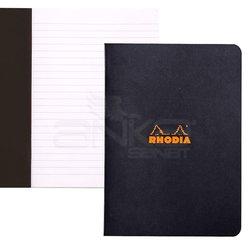 Rhodia - Rhodia Basic Siyah Kapak Defter 80g 48 Yaprak 148x210mm (1)