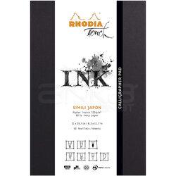 Rhodia - Rhodia Touch Calligrapher Pad Bez Cilti Blok 50 Yaprak 130g (1)
