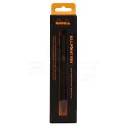 Rhodia - Rhodia Tükenmez Kalem Alüminyum Gövde 0.7mm Black