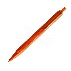 Rhodia - Rhodia Tükenmez Kalem Alüminyum Gövde 0.7mm Orange (1)