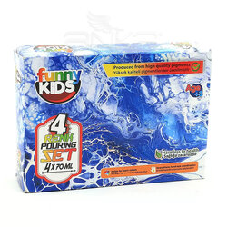Rich - Rich Funny Kids Pouring Set 4 Renk 70ml (1)