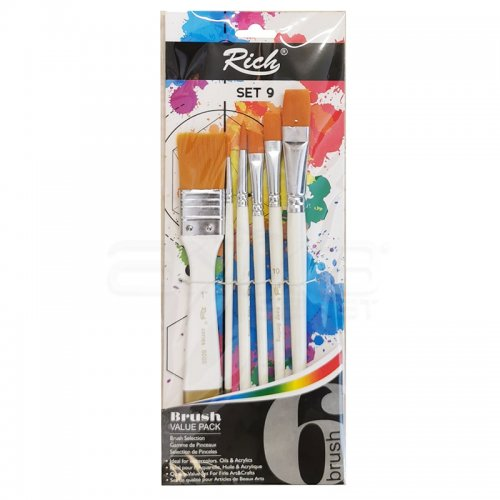 Rich Karma Fırça Seti Keep Smile 6lı Set-9
