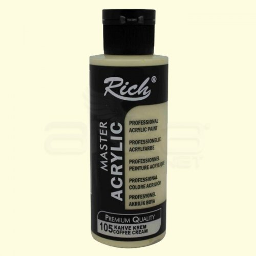 Rich Master Akrilik Boya 120ml 105 Coffe Cream