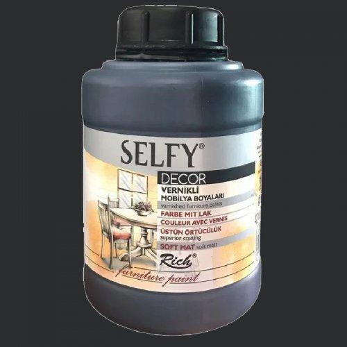 Rich Selfy Decor Vernikli Boya 1250cc 12874 Siyah