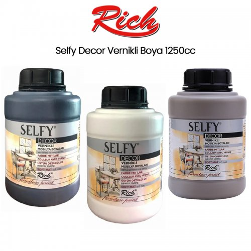 Rich Selfy Decor Vernikli Boya 1250cc