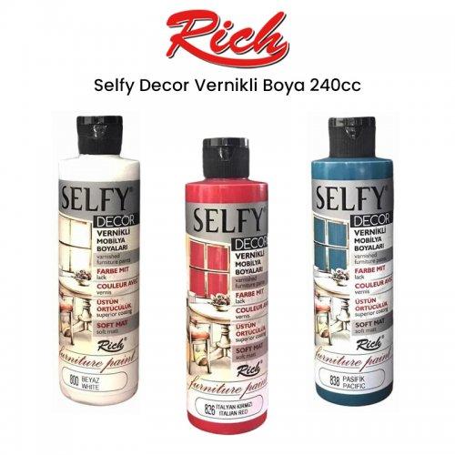 Rich Selfy Decor Vernikli Boya 240cc