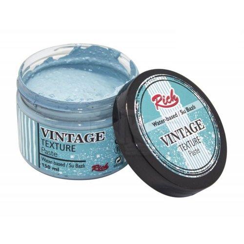 Rich Su Bazlı Vintage Texture Paste 150ml 5110 Ege Mavi