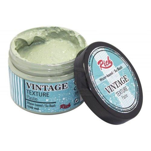Rich Su Bazlı Vintage Texture Paste 150ml 5116 Antik Yeşil