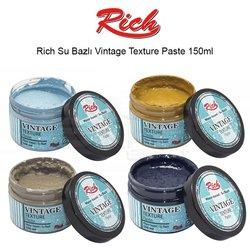 Rich - Rich Su Bazlı Vintage Texture Paste 150ml