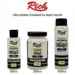 Rich - Rich Ultra Matte Chalked Su Bazlı Vernik