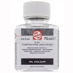 Talens - Talens Rectified Turpentine 75ml No:032 (1)