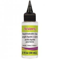 Sculpey - Sculpey Sıvı Polimer Kil 59ml Pearl