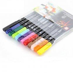 Sakura - Sakura Koi Coloring Brush Pen Fırça Uçlu Kalem 12li Set