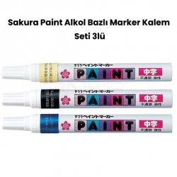 Sakura - Sakura Paint Alkol Bazlı Marker Kalem Seti 3lü