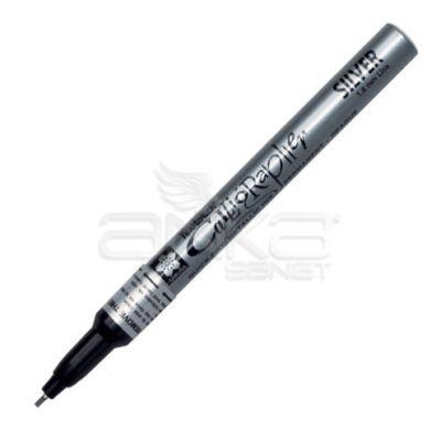 Sakura Pen Touch Calligrapher Kaligrafi Kalemi Fine Silver 1.8mm