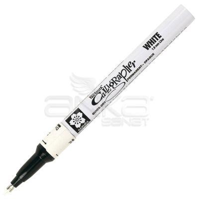 Sakura Pen Touch Calligrapher Kaligrafi Kalemi Fine White 1.8mm