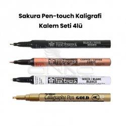 Sakura - Sakura Pen-touch Kaligrafi Kalem Seti 4lü