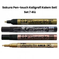Sakura - Sakura Pen-touch Kaligrafi Kalem Seti Set 7 4lü