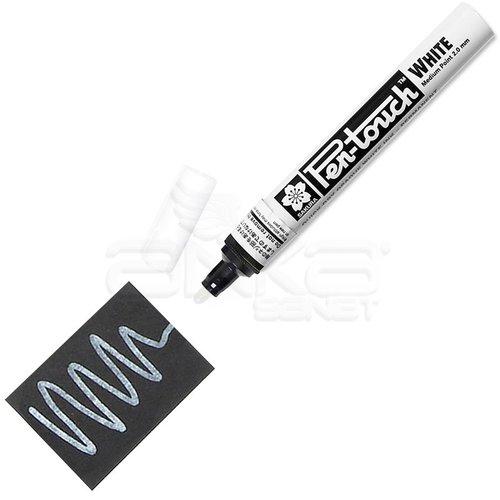 Sakura Pen-touch Marker Kalem 2mm (Medium) Beyaz