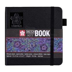 Sakura - Sakura Sketch Book Siyah Kağıt 140g 80 Yaprak (1)
