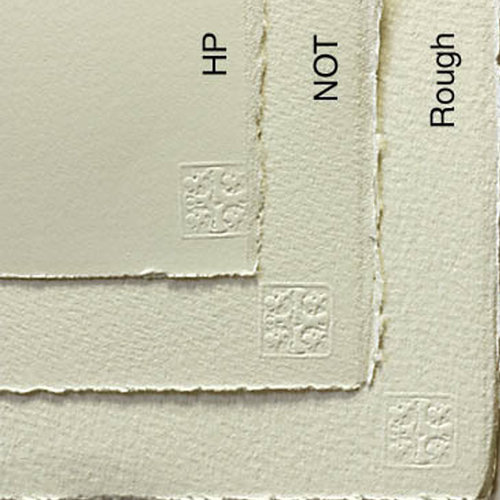 Saunders Waterford Natural White 425g 56x76 Tabaka 10lu Paket