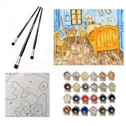 Anka Art - Sayılarla Boyama Seti 40x50cm Bedroom