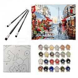 Anka Art - Sayılarla Boyama Seti 40x50cm Paris