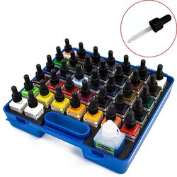 Schmincke - Schmincke Aero Color Airbrush Boyası Set 37x28ml (1)