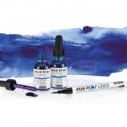 Schmincke - Schmincke Aqua Drop Sıvı Sulu Boya 30ml (1)