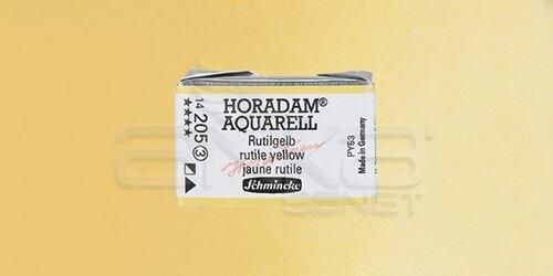 Schmincke Horadam Aquarell 1/1 Tablet 205 Rutile Yellow seri seri 3 - 205 Rutile Yellow seri