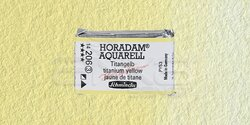Schmincke - Schmincke Horadam Aquarell 1/1 Tablet 206 Titanium Yellow seri 3
