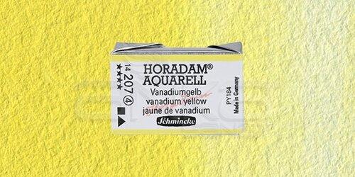 Schmincke Horadam Aquarell 1/1 Tablet 207 Vanadium Yellow seri 4 - 207 Vanadium Yellow