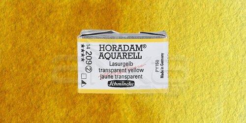 Schmincke Horadam Aquarell 1/1 Tablet 209 Translucent Yellow seri 2 - 209 Translucent Yellow