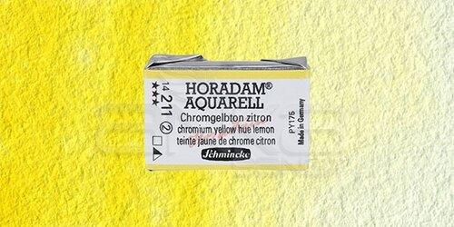 Schmincke Horadam Aquarell 1/1 Tablet 211 Chrome Yellow Lemon seri 2 - 211 Chrome Yellow Lemon