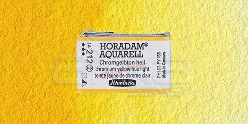 Schmincke Horadam Aquarell 1/1 Tablet 212 Chrome Yellow Light seri 2 - 212 Chrome Yellow Light