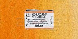 Schmincke - Schmincke Horadam Aquarell 1/1 Tablet 214 Chrome Orange seri 2