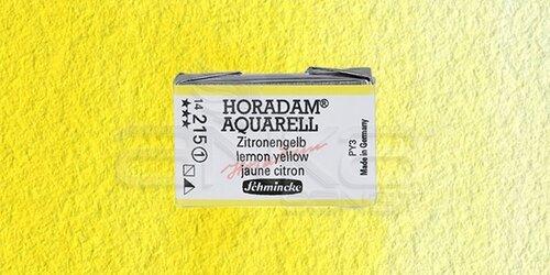 Schmincke Horadam Aquarell 1/1 Tablet 215 Lemon Yellow seri 1 - 215 Lemon Yellow