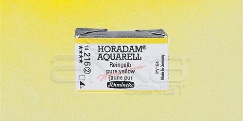 Schmincke Horadam Aquarell 1/1 Tablet 216 Pure Yellow seri 2 - 216 Pure Yellow