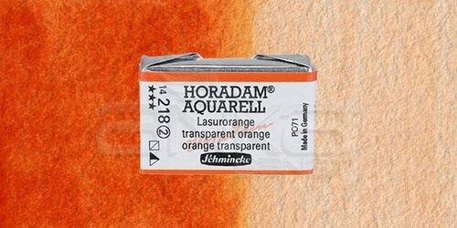 Schmincke Horadam Aquarell 1/1 Tablet 218 Translucent Orange seri 2 - 218 Translucent Orange