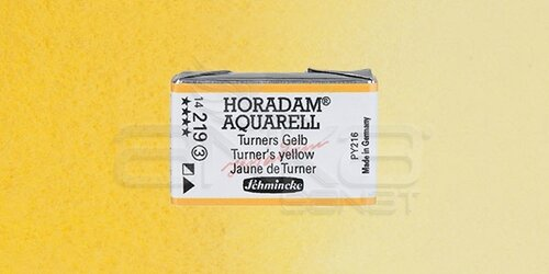 Schmincke Horadam Aquarell 1/1 Tablet 219 Turners Yellow seri 3 - 219 Turner's Yellow