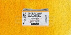 Schmincke - Schmincke Horadam Aquarell 1/1 Tablet 220 Indian Yellow seri 2
