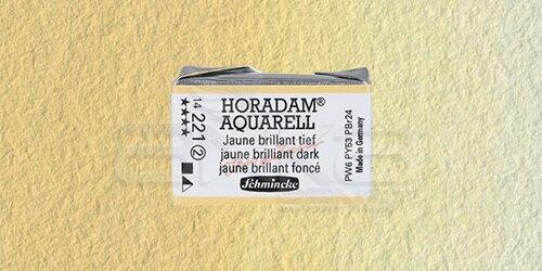 Schmincke Horadam Aquarell 1/1 Tablet 221 Brilliant Yellow Dark seri 2 - 221 Brilliant Yellow Dark