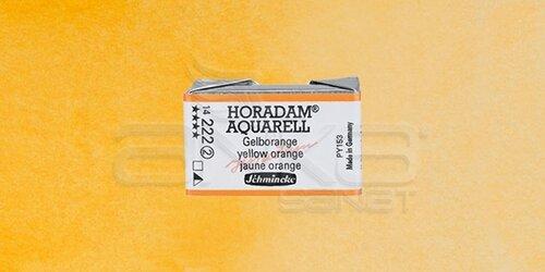 Schmincke Horadam Aquarell 1/1 Tablet 222 Yellow Orange seri 2 - 222 Yellow Orange