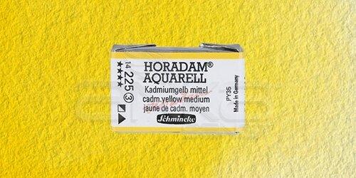 Schmincke Horadam Aquarell 1/1 Tablet 225 Cadmium Yellow Middle seri 3 - 225 Cadmium Yellow Middle